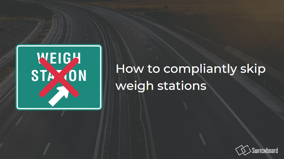 Skip The Weigh Station
